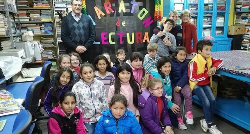 En todo el país ya hay más de 5.400.000 niños, jóvenes y adultos inscriptos a la Maratón Nacional de Lectura