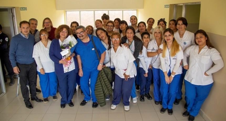 Estudiantes de enfermería comenzaron sus prácticas en el hospital municipal
