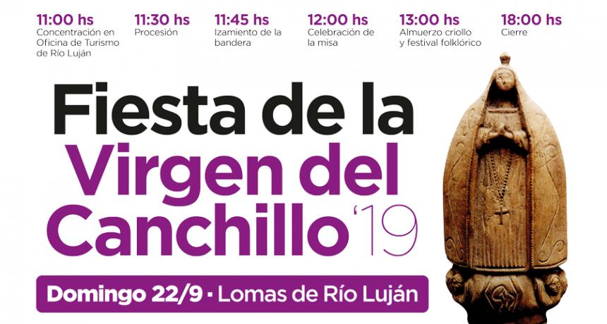 Este domingo se celebrará la Fiesta de la Virgen del Canchillo