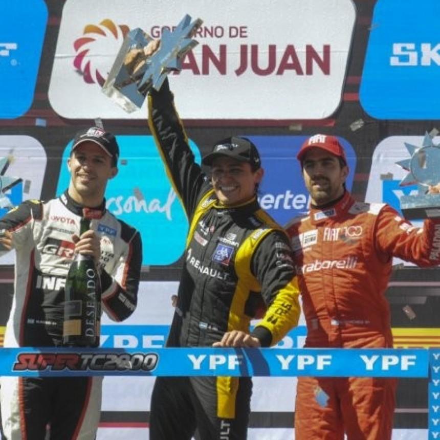 Matías Milla y su primera victoria en el Súper TC 2000