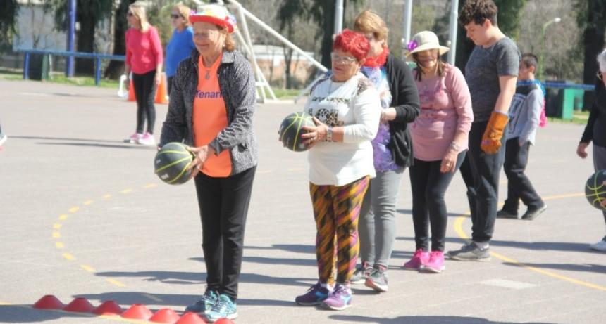 La Escuela Municipal de Deportes celebró el Día del Jubilado y la Discapacidad