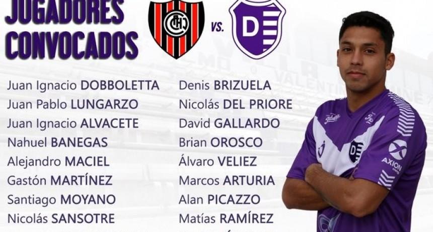 Villa Dálmine juega este sábado a las 12 horas frente a Chacarita Juniors en San Martín
