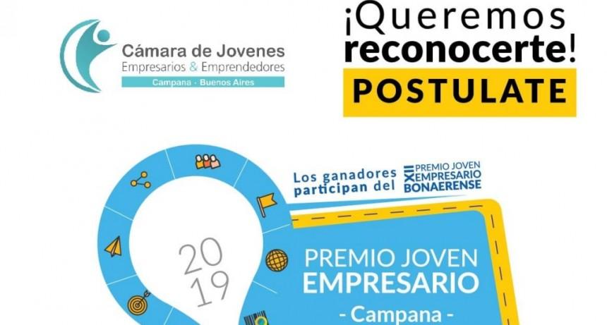 Se viene una nueva edición del Premio Joven Empresario de Campana