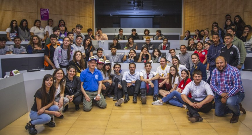 Gabinete Joven: ganó un proyecto sobre vialidad de la Escuela Técnica Nº 1