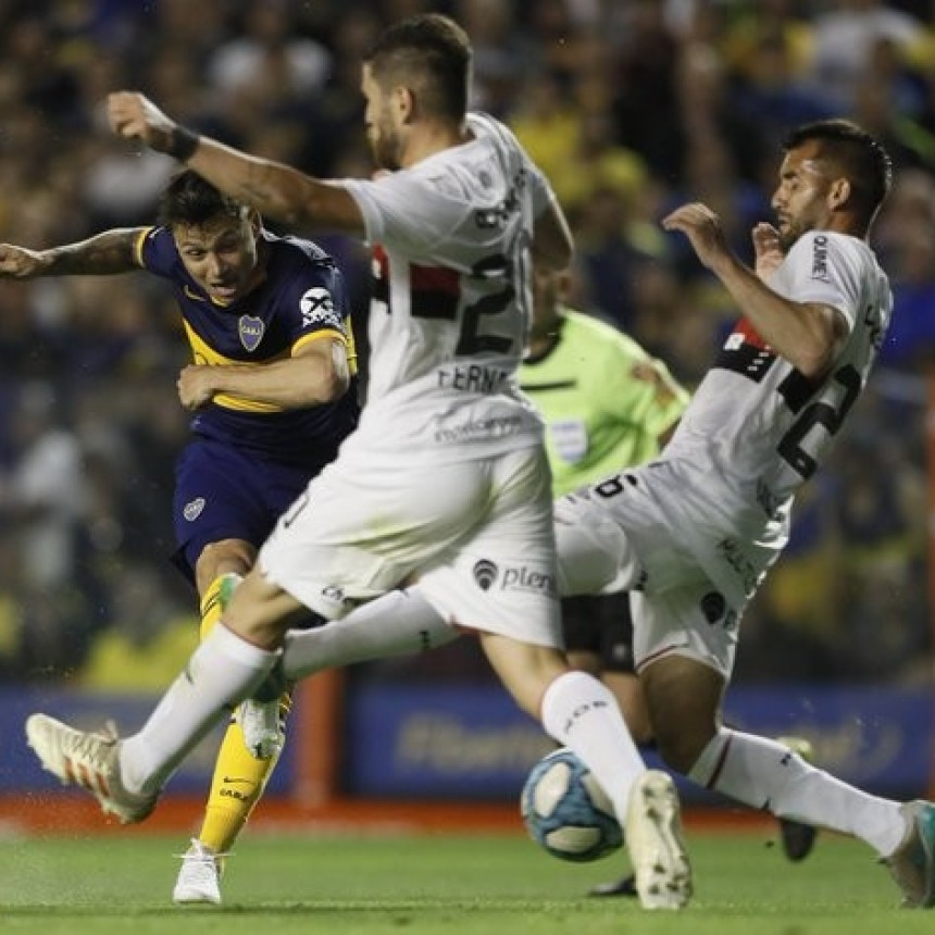 Boca Juniors y Newell´s  Old Boys empataron 1 a 1