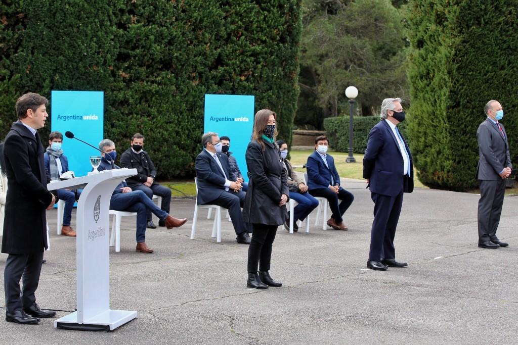 Kicillof anunció junto al Presidente el Programa de Fortalecimiento de Seguridad para la Provincia