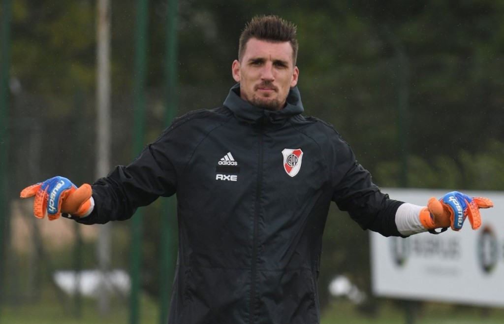 Gallardo piensa en dos equipos para jugar los partidos de la Libertadores