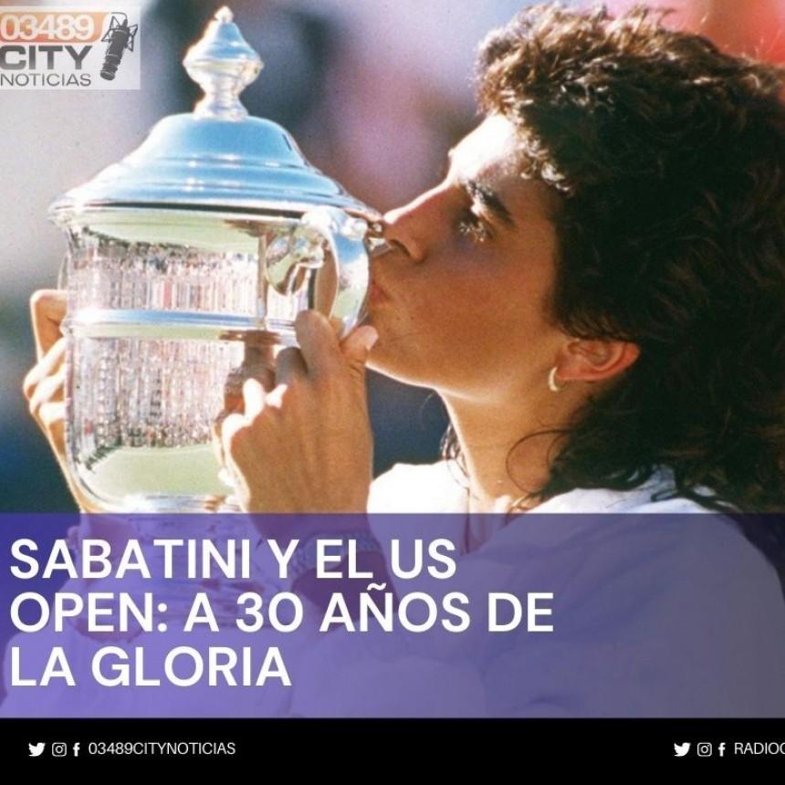 Se cumplen 30 años de la obtención de Gabriela Sabatini del U.S.OPEN