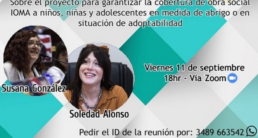 La Diputada Provincial Soledad Alonso se refirió a diferentes temas de actualidad