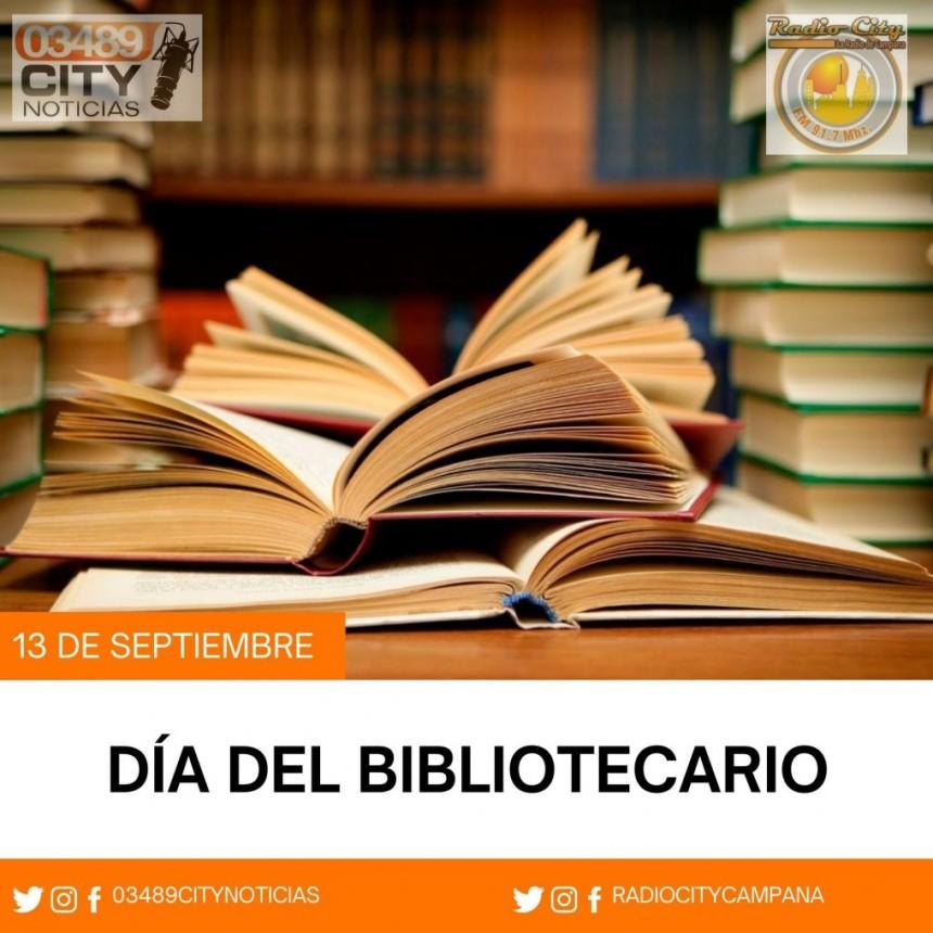 13 DE SETIEMBRE  :  Dia del Biblotecario/a