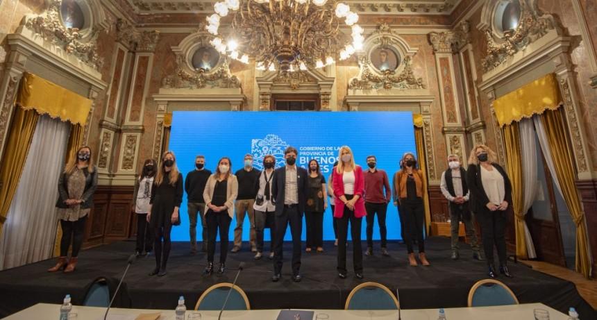 La Provincia presentó Aulas del Bicentenario