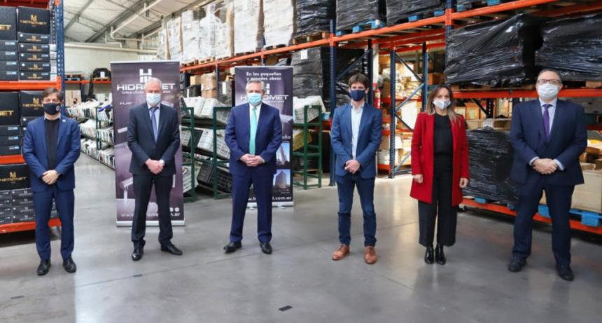 Kicillof participó junto al Presidente del lanzamiento de Precios Cuidados para la Construcción