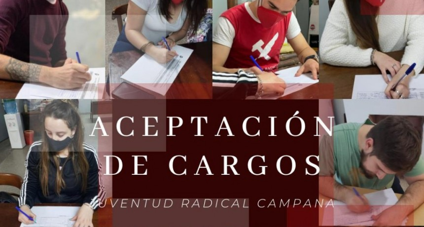 La Juventud Radical presentó lista de unidad