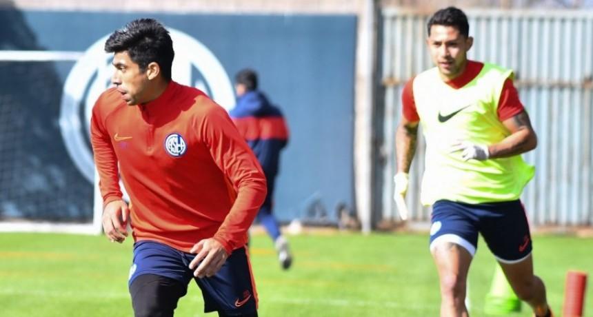 San Lorenzo de Almagro se entrena en Ciudad Deportiva