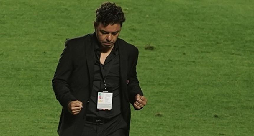Marcelo Gallardo: La respuesta del equipo fue muy satisfactoria