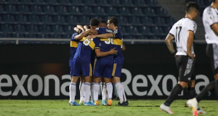 Boca Juniors derrotó a Libertad en Paraguay por 2 a 0