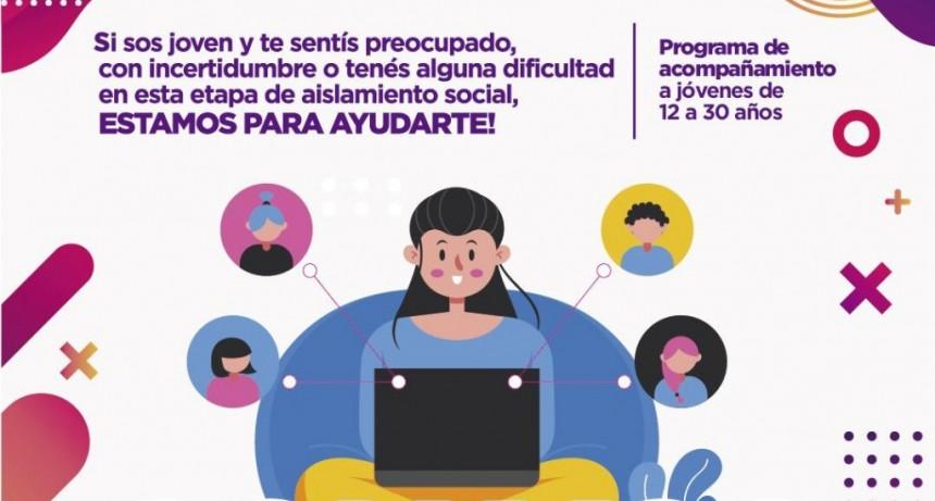"""""""Con vos en casa"""", el programa para estar cerca de los jóvenes durante la pandemia"""