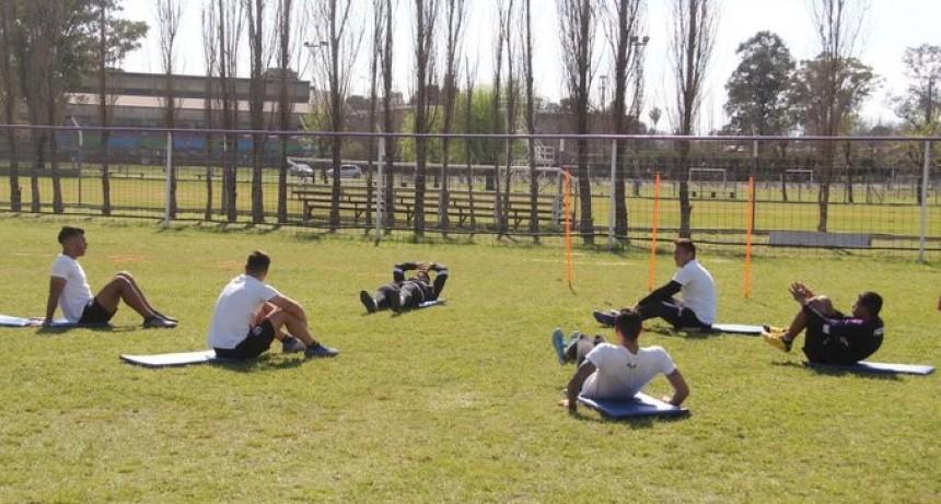 Villa Dálmine comenzó un nuevo entrenamiento