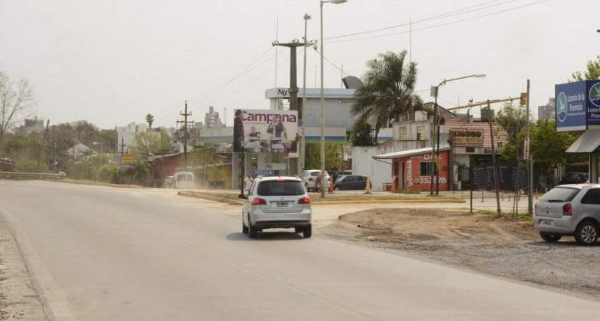 El Municipio habilitó el ingreso a la ciudad por el boulevard Dellepiane