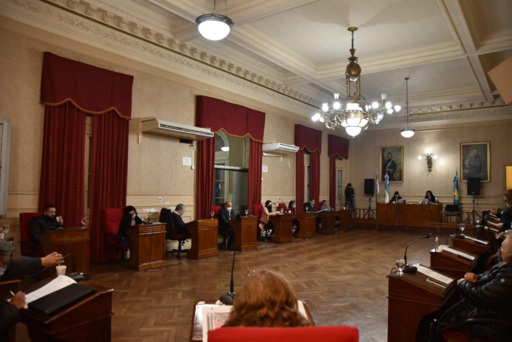 El HCD tuvo su primera sesión de septiembre