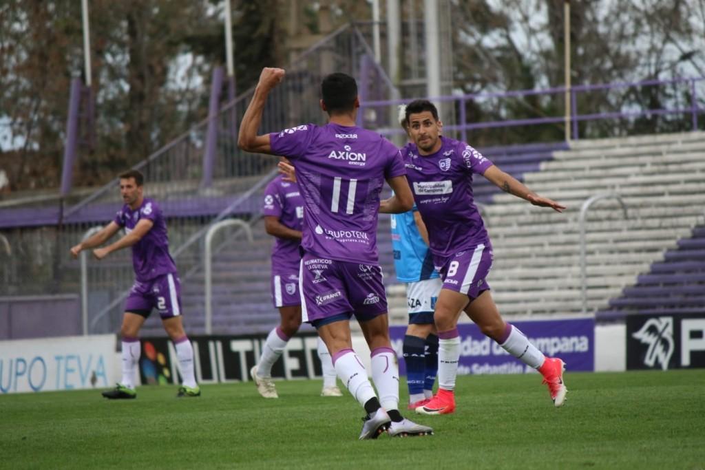 Francisco Nouet :  la alegría por el gol y la bronca por la expulsión