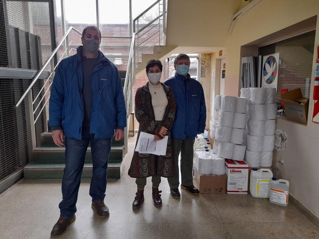 La empresa Bunge hizo una importante donación al Hospital San José