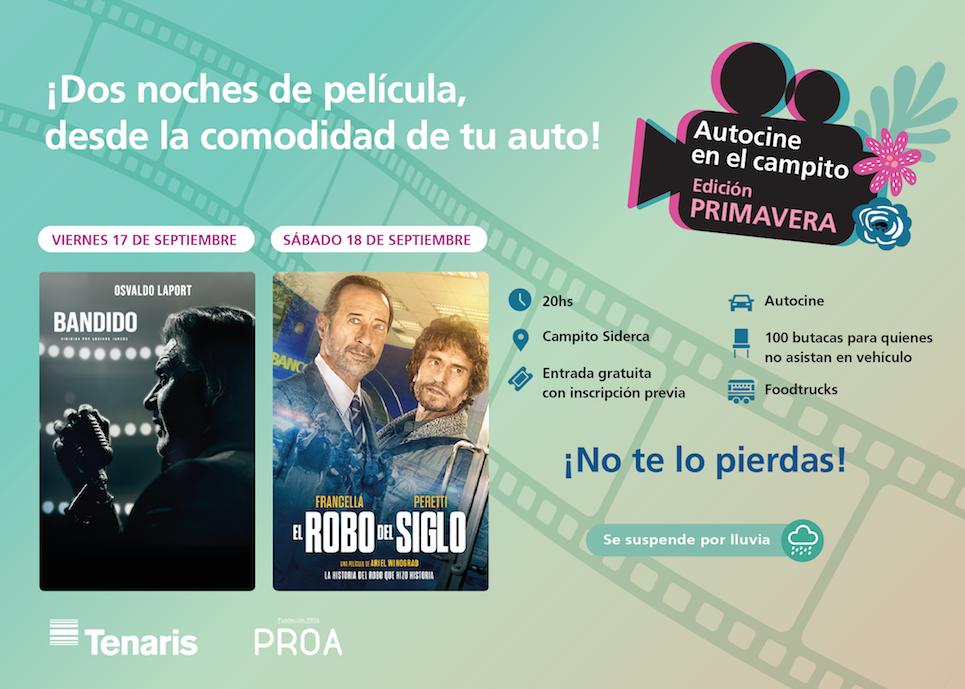 Llegan dos nuevas funciones del Ciclo de Cine Latinoamericano de Tenaris y Fundación PROA