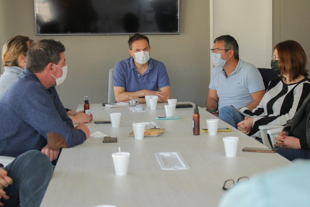 Abella se reunió con concejales de Juntos por el Cambio para abordar los resultados de las PASO