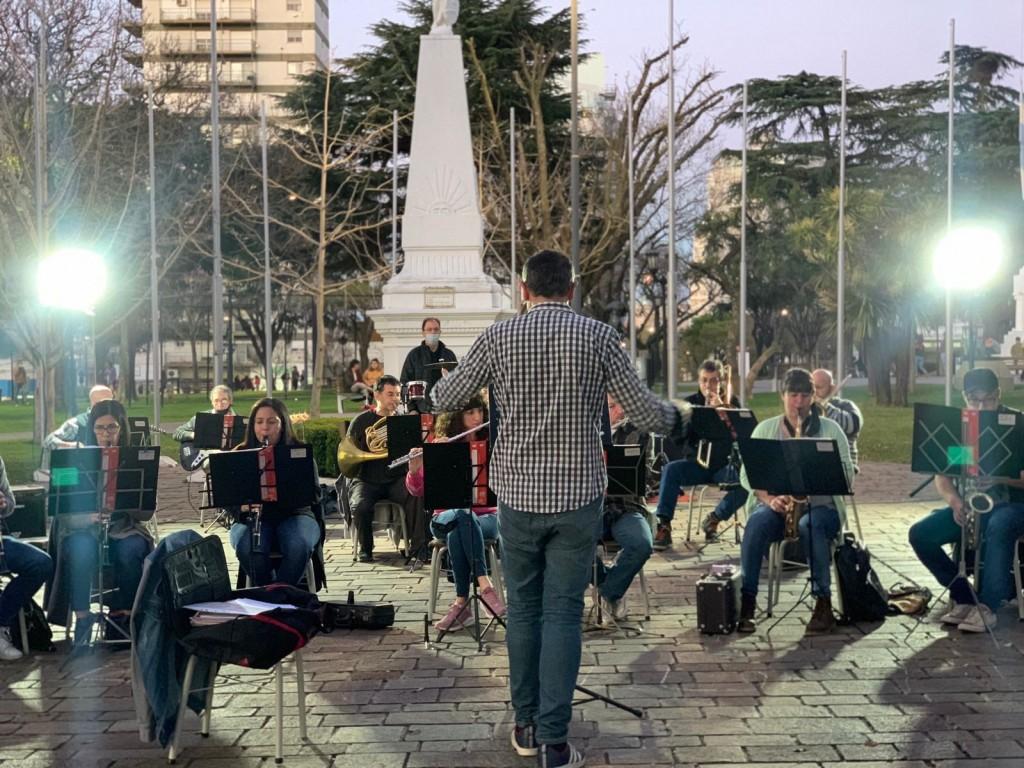Regresaron los ensayos abiertos de la Banda Municipal