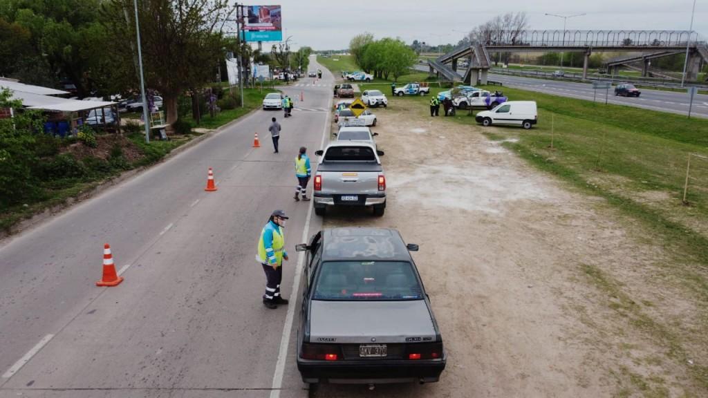 Seguridad: más de 200 vehículos fueron controlados en dos operativos de saturación