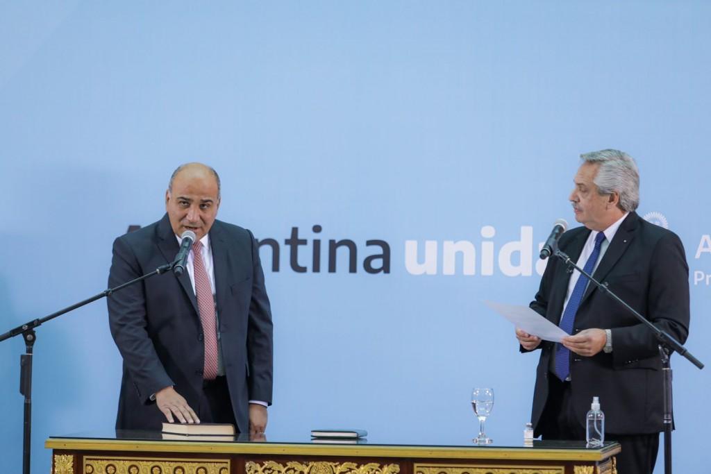 El Presidente tomó juramento a los nuevos ministros del Gabinete
