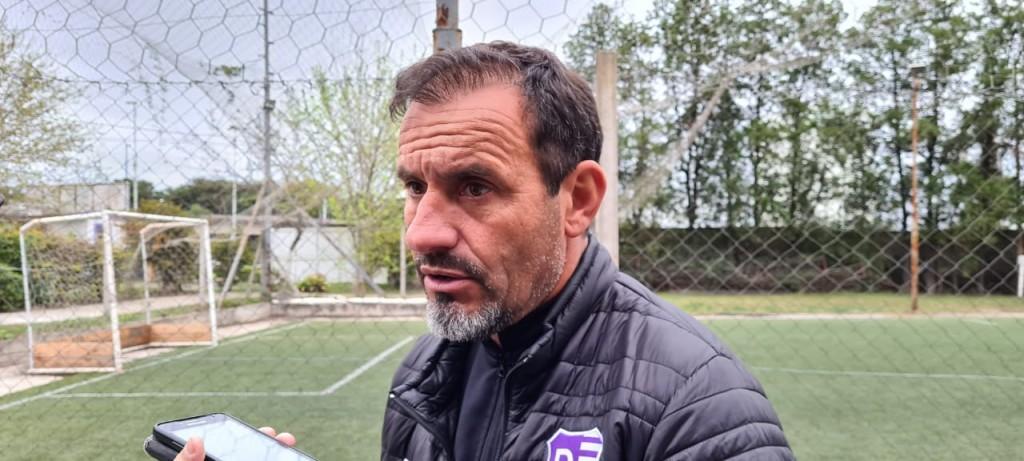 MARCELO FRANCHINI : tratamos de equilibrar el equipo buscando más recuperación en mitad de cancha