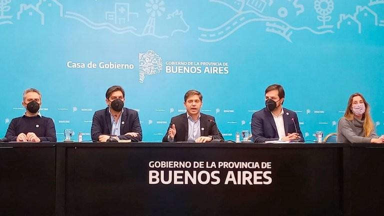 Axel Kicillof anunció que en la provincia de Buenos Aires habrá clases los sábados para recuperar contenidos
