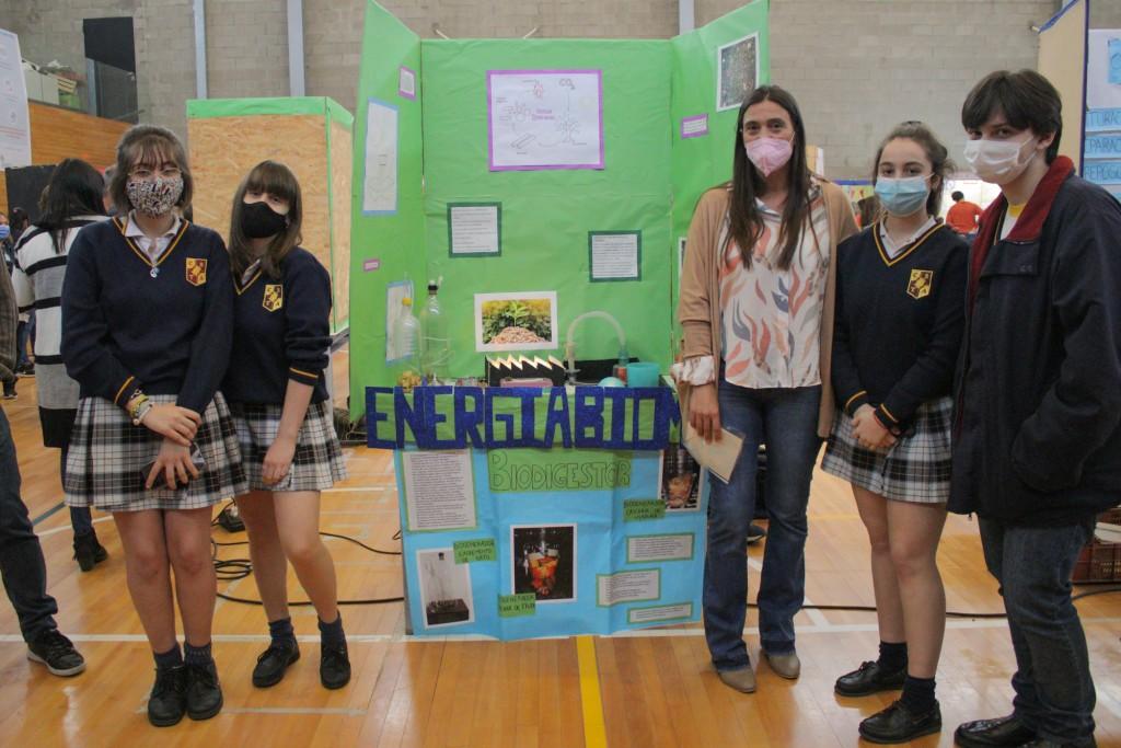 Elisa Abella acompañó una nueva edición de la Feria de Educación, Arte, Ciencia y Tecnología