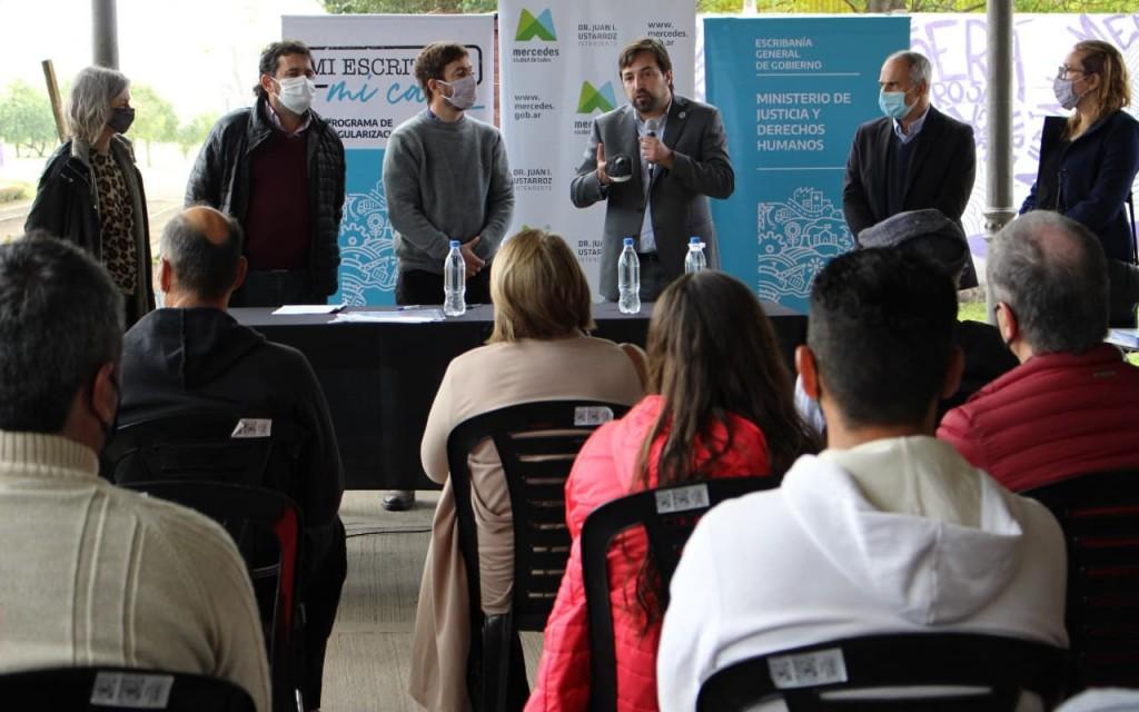 MI ESCRITURA, MI CASA : La Provincia entrega 1.500 escrituras a familias bonaerenses