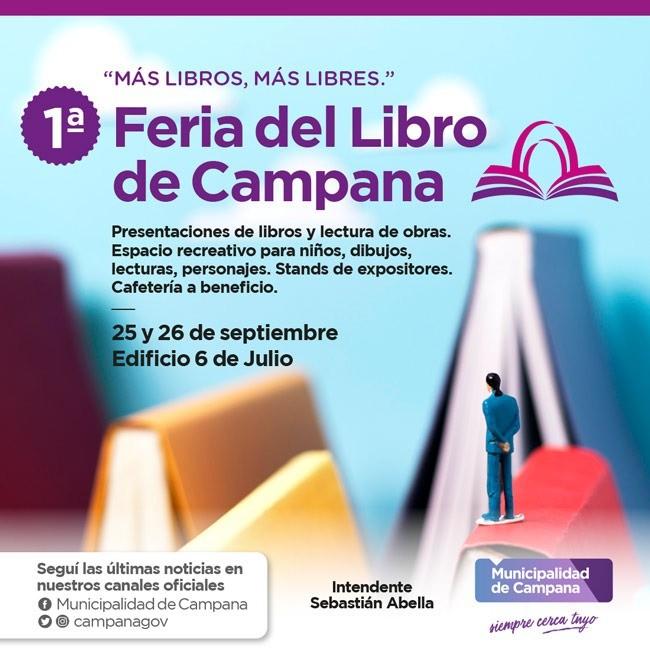 Hoy comienza la primera Feria del Libro de la ciudad