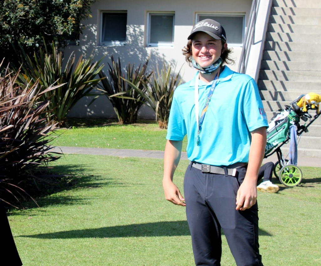Campana se impuso en la etapa Regional de Golf