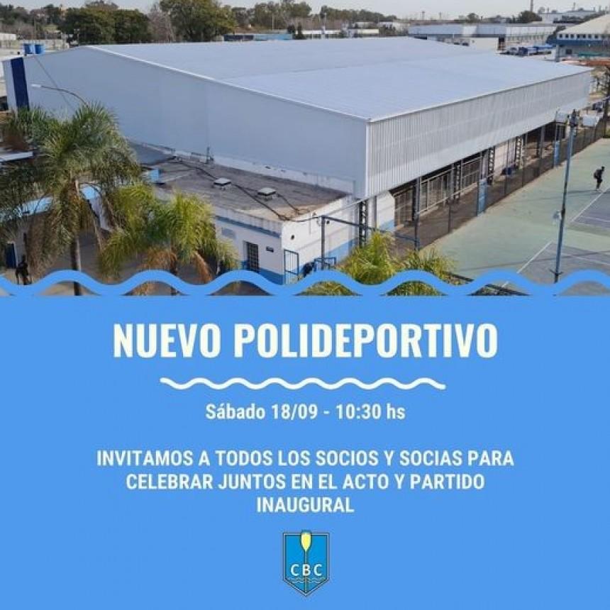 EL CAMPANA BOAT CLUB INAUGURA SU NUEVO POLIDEPORTIVO