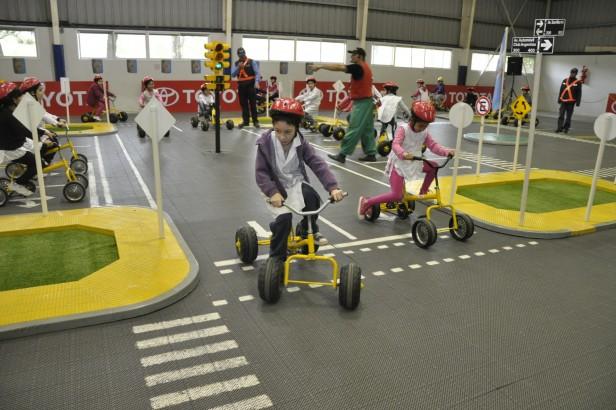 """Niños de la ciudad participaron del Programa """"Toyota y Vos Kids"""""""