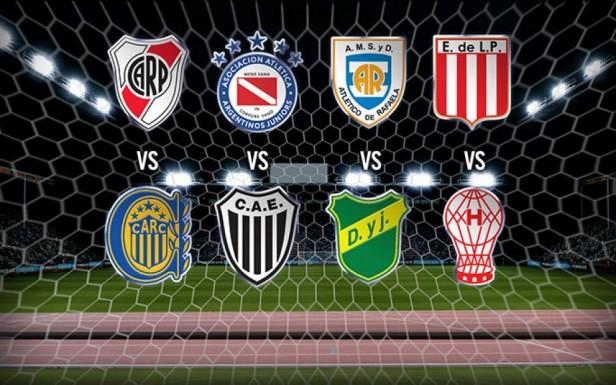 Los ocho equipos que irán por la corona en la Copa Argentina