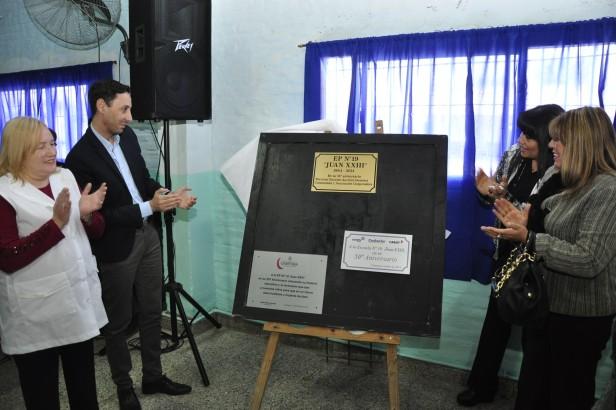 La Escuela N°19 de San Cayetano celebró sus Bodas de Oro
