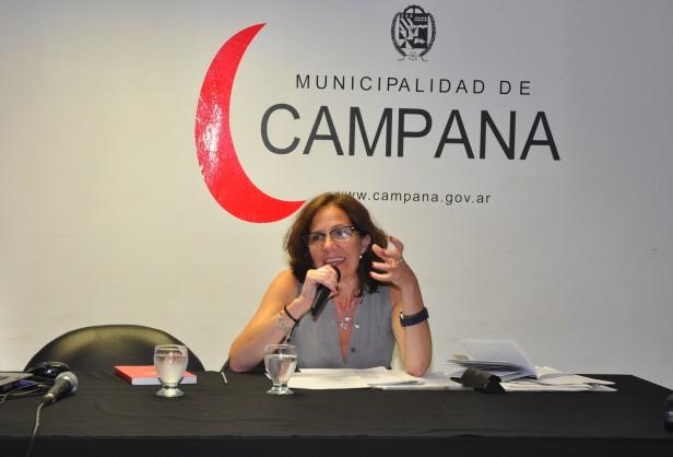 La Dra. Gabriela Diker disertó en el marco de la Escuela Municipal de Gobierno