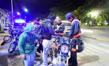 Se intensifican los operativos de tránsito en zona céntrica y en los barrios