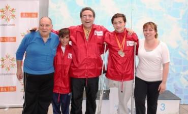 """Destacada actuación de Daniel Muñoz y Diego Marquine en los Juegos Nacionales """"Evita"""""""
