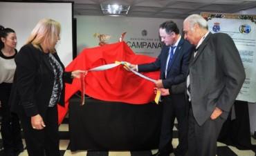 La Intendente Stella Giroldi recibió al Alcalde del Ayuntamiento de Villa de Cruces, Don Jesús Otero Varela