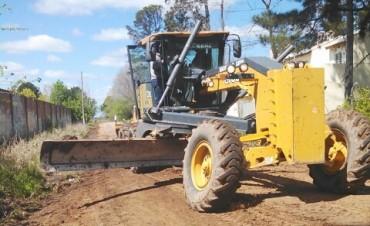 La Municipalidad concretó trabajos de Mantenimiento Integral en el barrio Otamendi