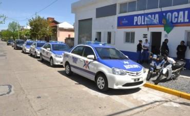 Se incorporaron a la Policía Local de Campana 4 nuevas unidades móviles