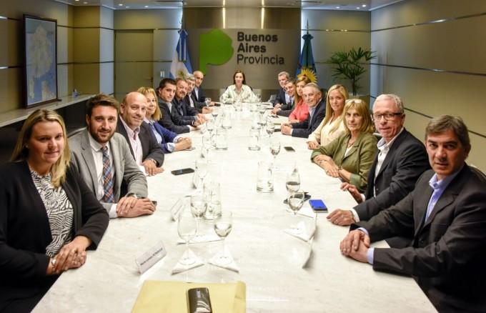 Senadores de Cambiemos se reunieron con Vidal