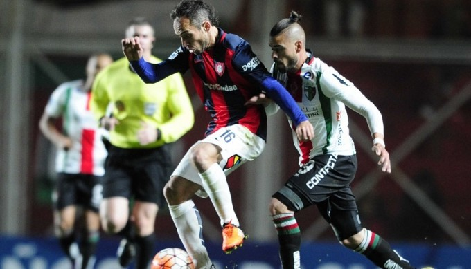 San Lorenzo le ganó a Palestino de Chile 2 a 0