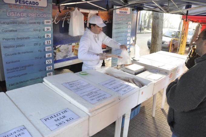 Feria de productores locales: se suman nuevos días de venta de pescado